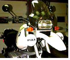 the piaa lights come with white plastic covers which seem to be made well  and snap onto the lights securely  the staintune light bar is made from  hollow