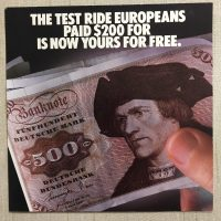 1985 K100RS Brochure - Get a Free Ride
